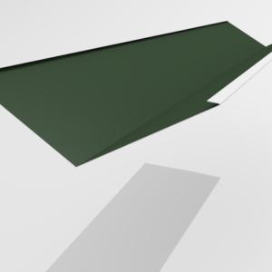 Ендова внутренняя для металлочерепицы Pe Ral 6005