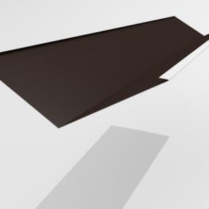 Ендова внутренняя для металлочерепицы Pe Ral 8019