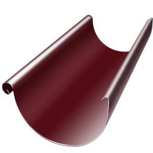 Желоб полукруглый 3м Grand Line 125/90 RAL 3005 Красное вино
