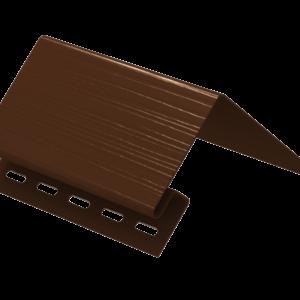 Планка околооконная Ю-Пласт Коричневая
