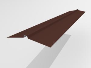 Конек угловой для металлочерепицы Pe Ral 8017 165*25*165 мм