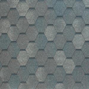 Гибкая черепица Tegola Nobil Tile Вест Темно-серый