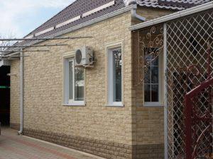 Фасадная панель Docke R Stein Янтарный