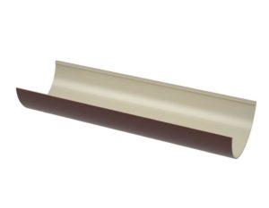 Желоб водосточный Verat Технониколь 125/80 Коричневый глянец, 1,5 м