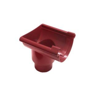 Воронка желоба торцевая Murol (Eslon) красная, клеевая