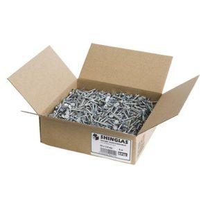 Гвозди ершеные оцинкованные 25х3,5 мм, 5 кг
