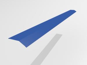 Планка карнизная (капельник) для металлочерепицы Pe Ral 5005