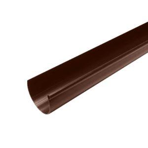 Желоб водосточный Murol (Eslon) ⌀130мм коричневый, 3000мм