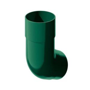 Колено трубы 135˚ Verat Технониколь 125/80 Зеленый
