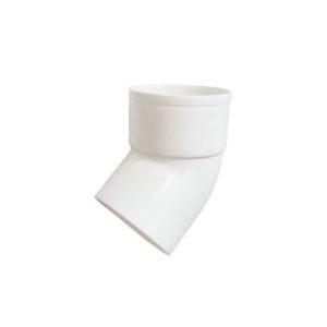 Колено выпуска 67° Murol (Eslon) белое