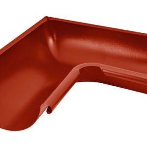 Угол желоба внутренний 90° Aquasystem 125/90 RR29 Красный