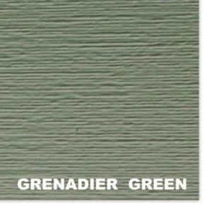 Сайдинг виниловый Mitten Grenadier Green D4.5