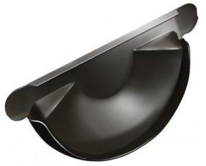 Заглушка желоба Grand Line 125/90 RR 32 Темно-коричневый