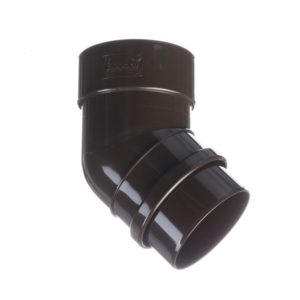 Колено трубы 45˚ Docke LUX 141/100 Шоколад