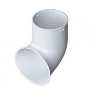Отвод (слив) трубы Альта-Профиль ПВХ 125/95 «Элит» Белый
