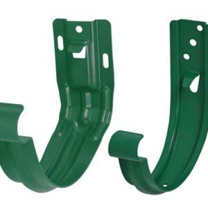 Крюк желоба универсальный Aquasystem 125/90 RAL6005 Зеленый