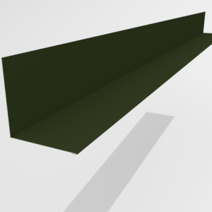 Планка примыкания для металлочерепицы Pe Ral 6415