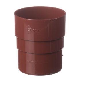 Муфта трубы соединительная Docke Premium 120/85 Гранат