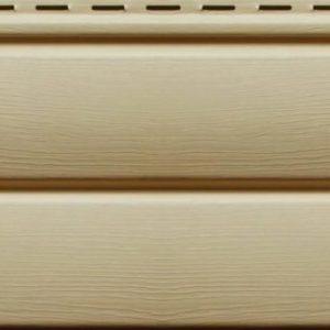 Сайдинг виниловый Ю-Пласт Блок-Хаус Кофе с молоком