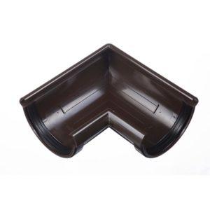 Угол желоба 90˚ Docke LUX 141/100 Шоколад