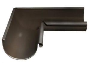 Угол желоба внутренний 90° Grand Line 125/90 RR 32 Темно-коричневый