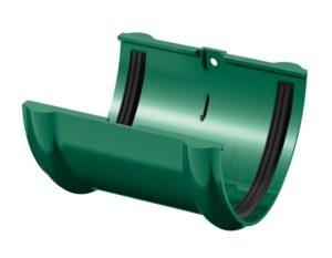 Соединитель желобов Verat Технониколь 125/80 Зеленый
