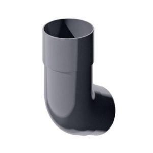 Колено трубы 135˚ Verat Технониколь 125/80 Серый