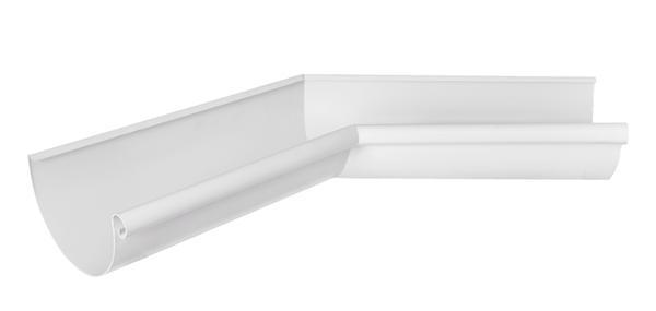 Угол желоба внутренний 135° Aquasystem 125/90 RR20 Белый