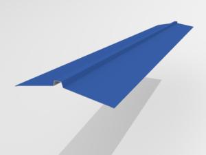 Конек угловой для металлочерепицы Pe Ral 5005 165*25*165 мм