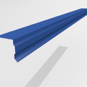 Планка торцевая (ветровая) для металлочерепицы Pe Ral 5005
