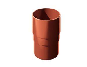 Муфта трубы соединительная Verat Технониколь 125/80 Красный