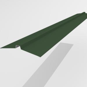 Конек угловой для металлочерепицы Pe Ral 6005 113*25*113 мм