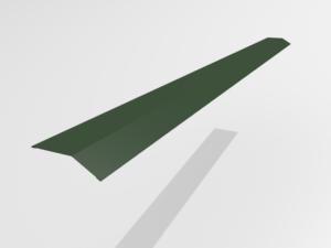 Планка карнизная (капельник) для металлочерепицы Pe Ral 6005
