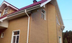 Фасадная панель Альта-Профиль Кирпич Клинкерный Бежевый