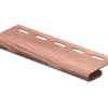 Планка финишная TimberBlock Ю-Пласт Дуб Мореный