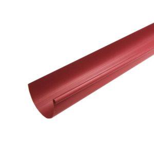 Желоб водосточный Murol (Eslon) ⌀130мм красный, 3000мм