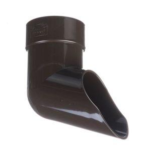 Наконечник трубы Docke LUX 141/100 Шоколад