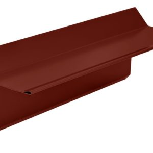 Планка торцевая фронтонная S5 Pe RAL3011