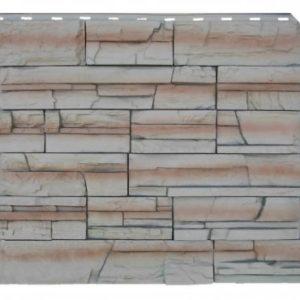 Фасадная панель Royal Stone Скалистый камень Буффало