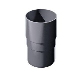 Муфта трубы соединительная Verat Технониколь 125/80 Серый