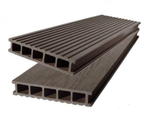 Террасная Доска Polywood DUO Двухсторонняя Венге (коричневая), 6м