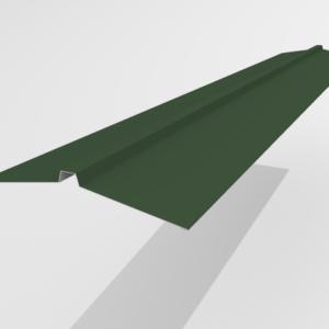 Конек угловой для металлочерепицы Pe Ral 6005 165*25*165 мм