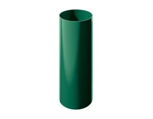 Труба водосточная Verat Технониколь 125/80 Зеленый глянец, 1,5 м