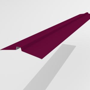 Конек угловой для металлочерепицы Pe Ral 3005 113*25*113 мм