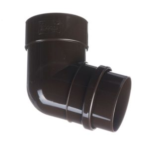 Колено трубы 72˚ Docke LUX 141/100 Шоколад
