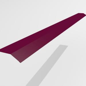 Планка карнизная (капельник) для металлочерепицы Pe Ral 3005