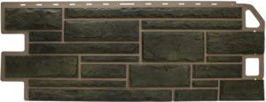 Фасадная панель Альта-Профиль Природный Камень Малахит