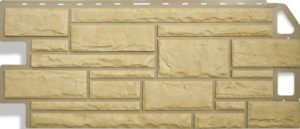 Сайдинг цокольный Альта-Профиль Природный Камень Желтый