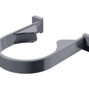 Хомут трубы Verat Технониколь 125/80 Серый