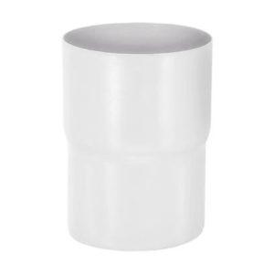 Соединитель трубы Aquasystem 125/90 RR20 Белый